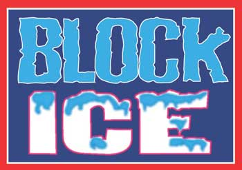 block ice newcastle nsw australia